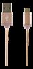 KABEL, USB A-MICROB, 5-P, 1 M, PREMIUM