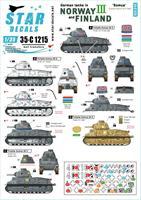 German tanks in Norway & Finland # III