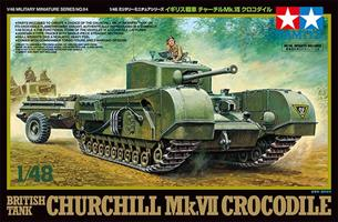 British Tank Churchill Mk. VII Crocodile