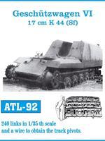 Geschützwagen VI 17cm K44 (Sf)
