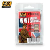 WWI BRITISH UNIFORMS