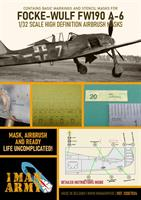 1/32 Mask for Focke-Wulf FW190 A-6