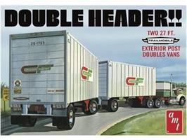 Double Header Tandem Van Trailers