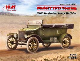 Model T 1917 Touring WWI Australian Army Staff Car