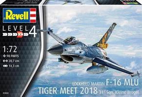 Tiger Meet 2018 Lockheed Martin F-16 MLU 31st Sqn.