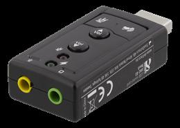 LJUDKORT, DELTACO  7.1 USB MINI