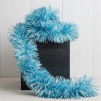 Glitter matt blå, 9 cm x 2 m