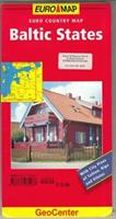 Baltiska staterna GEO 1:750 00