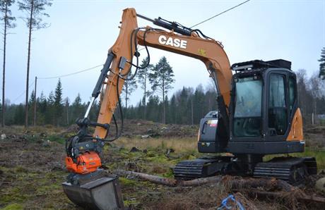 Ny Case Grävare