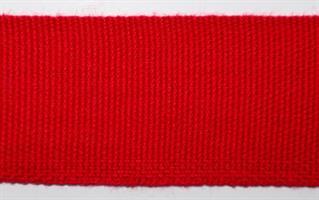 Skallebånd - Ensfarget - Rød