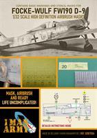 1/32 Mask for Focke-Wulf FW190 D-9