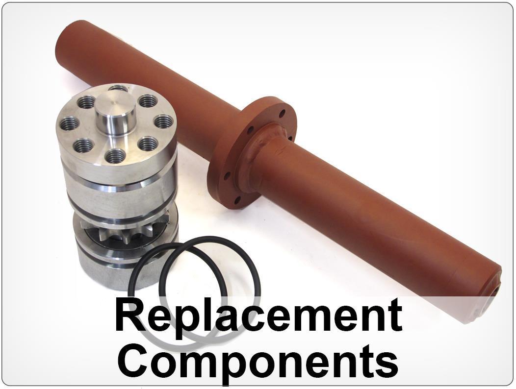 Replacement Components Debarking machine