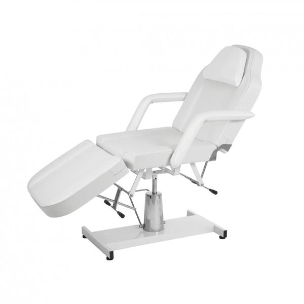 Manuell spa / massagebänk 02 vit
