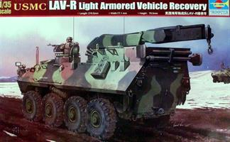 USMC LAV-R Light Armored Vehicle Recovery