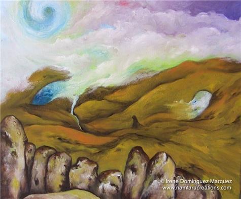 Irene Dominguez-Sands of time I