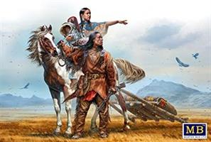 On the great plains, Indian war