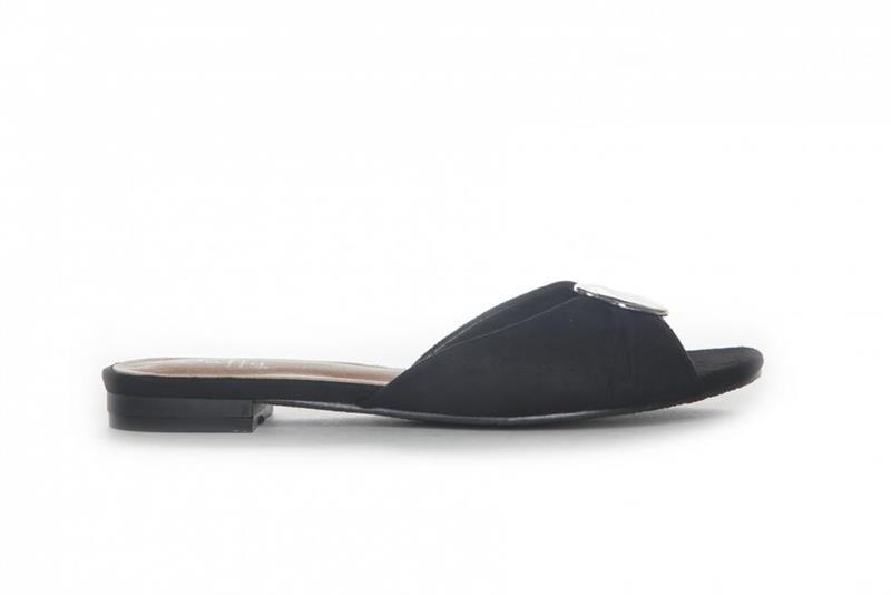 Duffy Slip-in sandal svart