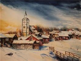 Jan Berg-Røros vinter