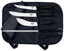 Jakt-/Slaktset Victorinox, 3 knivar + stål