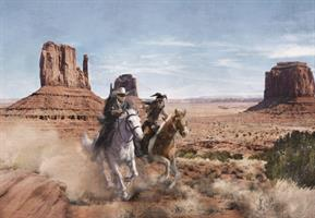 Komar fototapet Lone Ranger