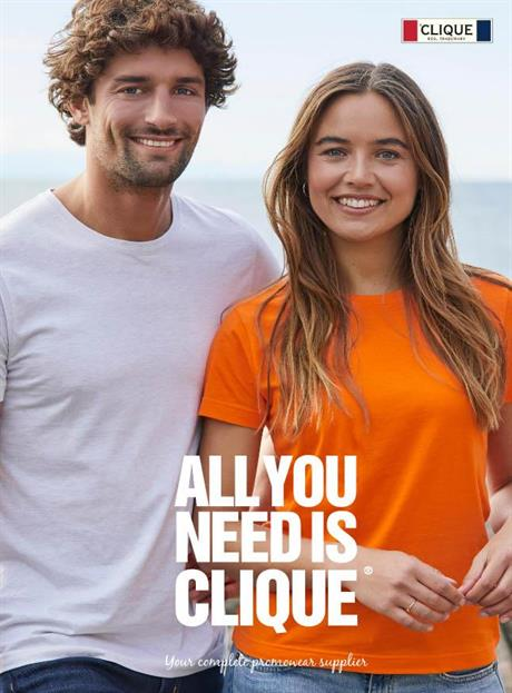 Clique, Profilkläder