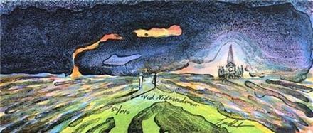 Elling Reitan-Ved Nidarosdomen