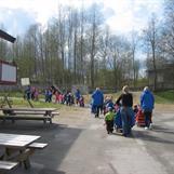 Mini 17.mai tog i barnehagen