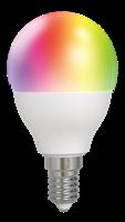 DELTACO SMART, RGB LED-LAMPA E14 5W