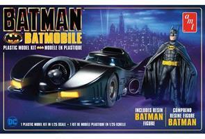 Batman 1989 Batmobile w/Resin Batman Figure