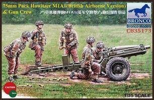 75mm Pack Howitzer M1A1 (British Airborne Version)