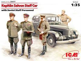 Kaptain 2-door Saloon, German Staff Car w/ Staff