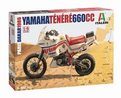 Yamaha Ténéré 660 cc Paris Dakar 1986