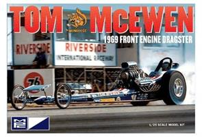 Tom McEwen 1969 Front Engine Dragster