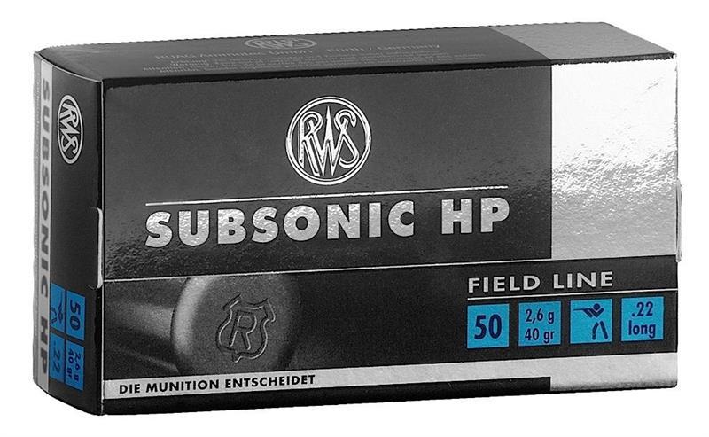 .22LR SUBSONIC RWS (50)