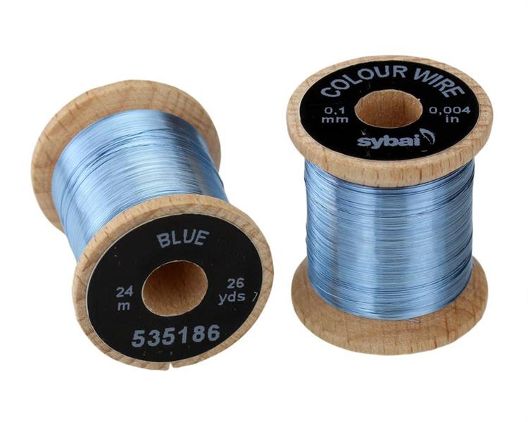 Wire 0,1mm - Blue