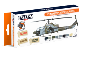 US Marine Corps Helicopters Paint Set