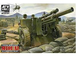 105mm Howitzer M101A1 on Carriage M2A2