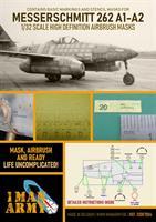1/32 Mask for Messerschmitt 262A-1/A-2