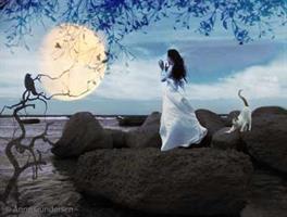 Anne Gundersen-Sang til månen