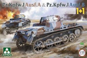 Pz.Kpfw.I Ausf.A & Pz.Kpfw.I Ausf.B 1+1