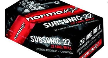 .22LR NORMA SUBSONIC