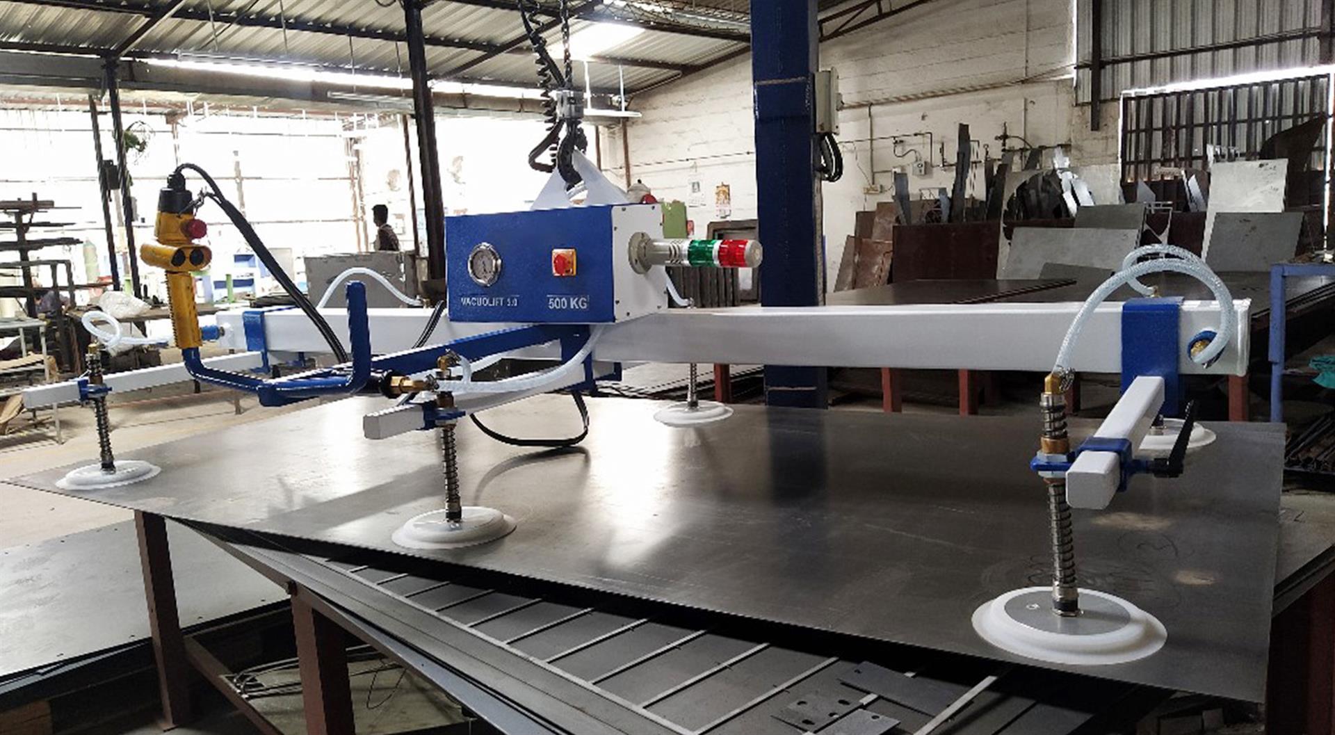 tyhjiögeneraattori metalliteollisuus