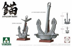 Battleship Yamato Anchors