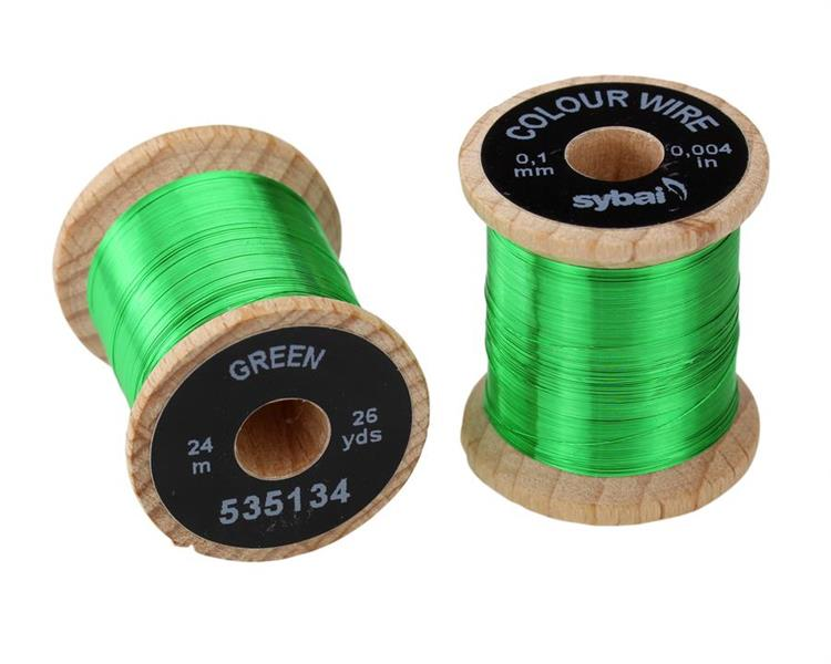 Wire 0,1mm - Green