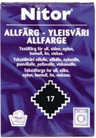 Nitor Allfarge, Sort 17