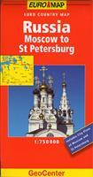 Ryssland Moscow to St Peters..