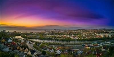 Aziz Nasuti-The beautiful Trondheim