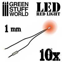 Red LED Lights - 1mm