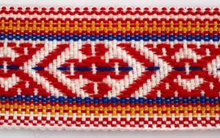 Skallebånd - Mønstret