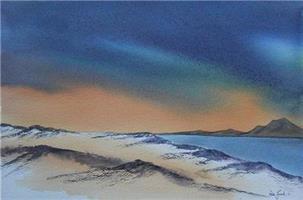 Åse Juul - Vinter ved kysten